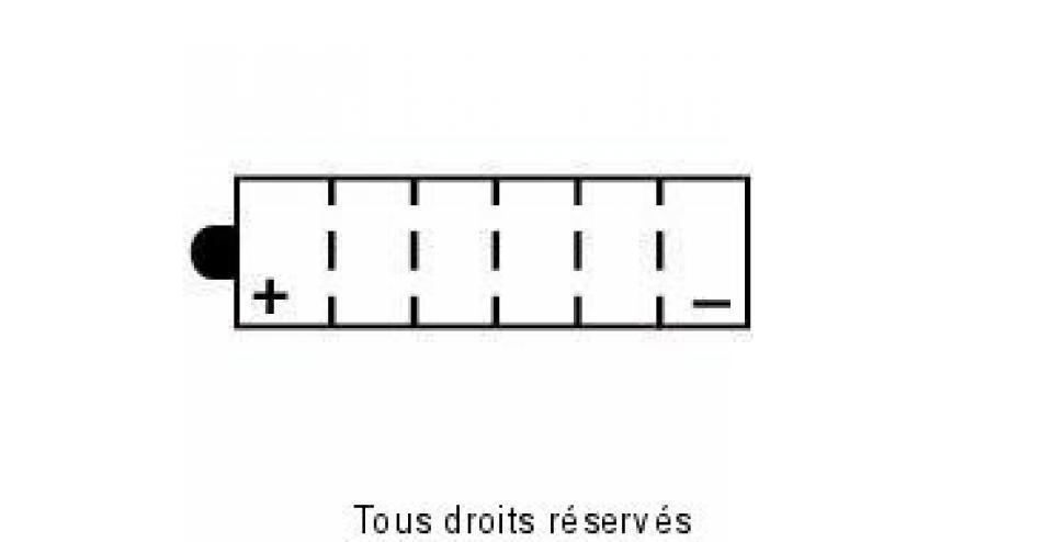 Batterie-Yuasa-Quad-KYMCO-400-Mxu-Irs-2X4-2008-2013-YB14-A2-12V-14Ah-Neuf