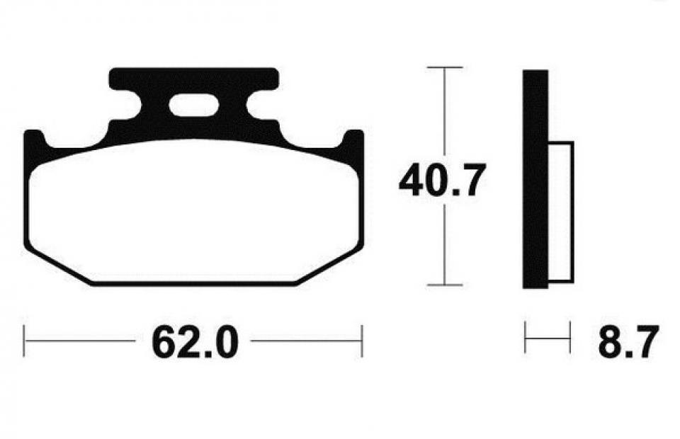 Plaquette de frein bendix moto yamaha 250 tyz 1996 1997 for Chambre a air 312 x 52 250