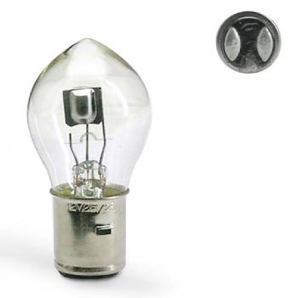 neuf une ampoule de feu avant 12v 25 25w moto scooter feu optique eclairage ebay. Black Bedroom Furniture Sets. Home Design Ideas
