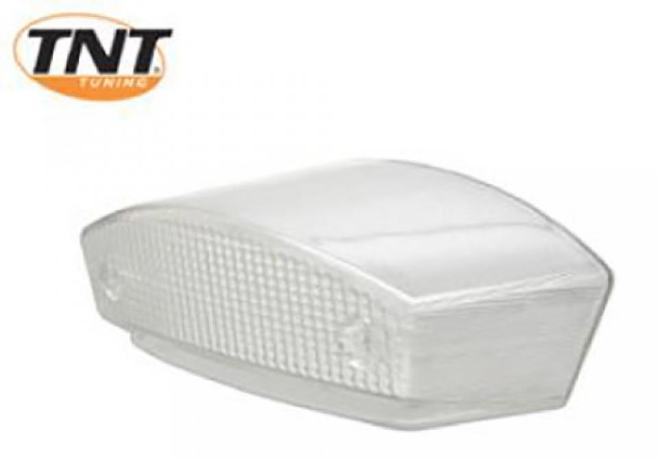 cabochon feu arri re transparent blanc tnt tuning moto derbi 50 senda neuf ebay. Black Bedroom Furniture Sets. Home Design Ideas