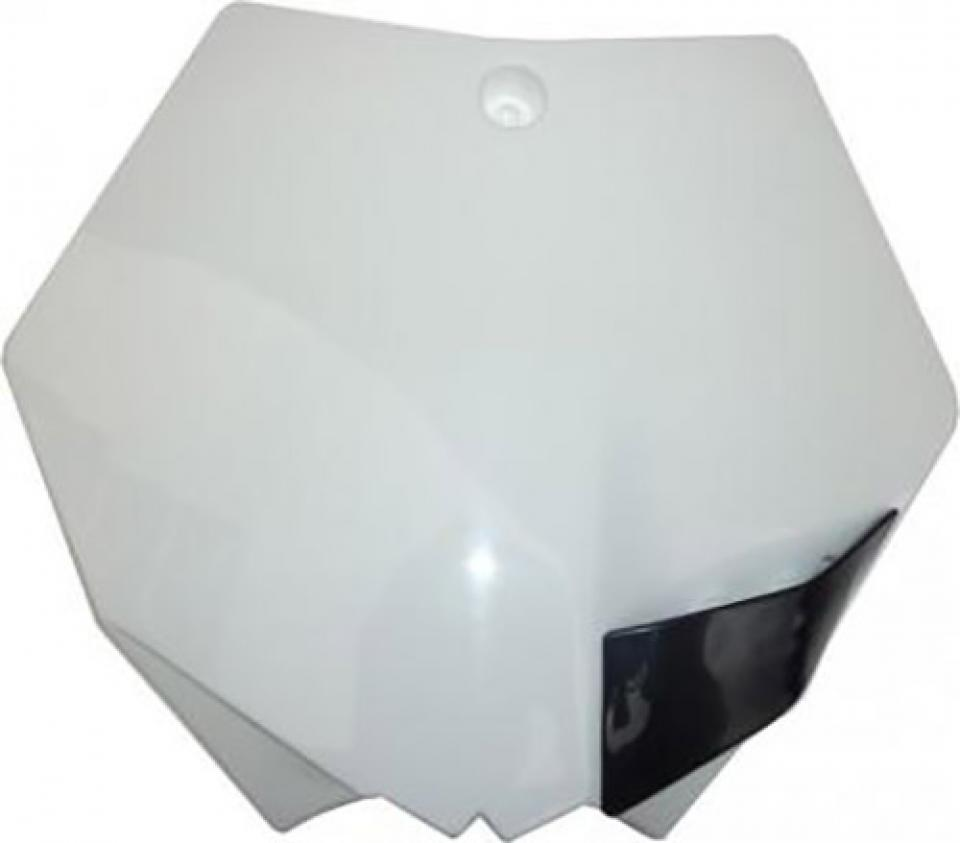 plaque phare num ro blanche ufo moto ktm 125 sx 2007 2008 2009 neuf ebay. Black Bedroom Furniture Sets. Home Design Ideas