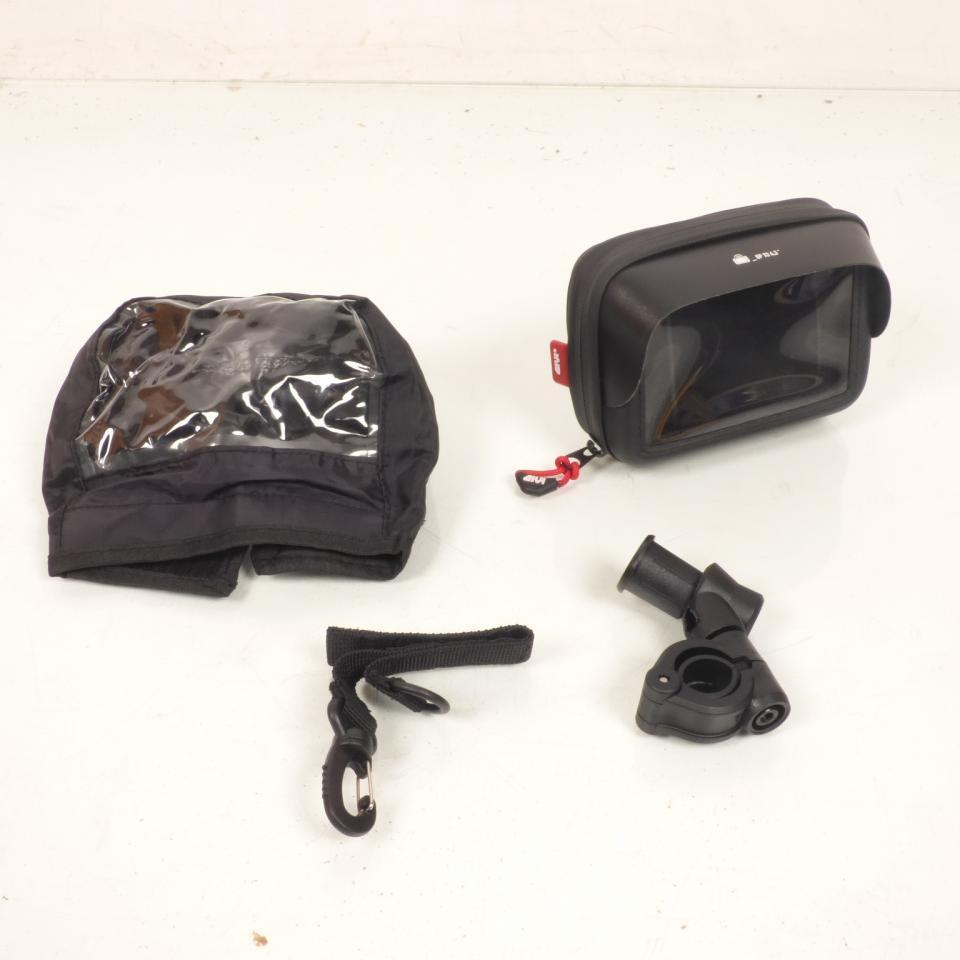 6cbe24eb399 Bolsa de manillar soporte de GPS smartphone GIVI S953 moto scooter ...