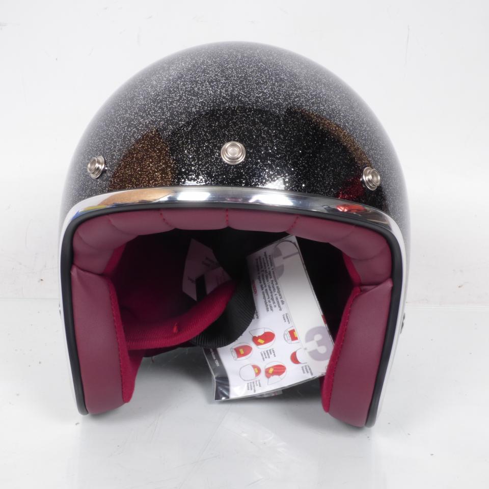 Casque Torx Moto Torx Taille M Wyatt Glitter Black Neuf Ebay