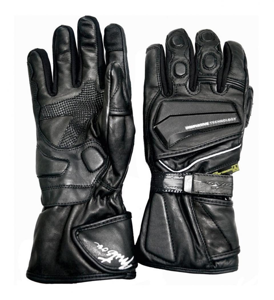 paire de gant moto hiver homme mitsou trip black taille l. Black Bedroom Furniture Sets. Home Design Ideas