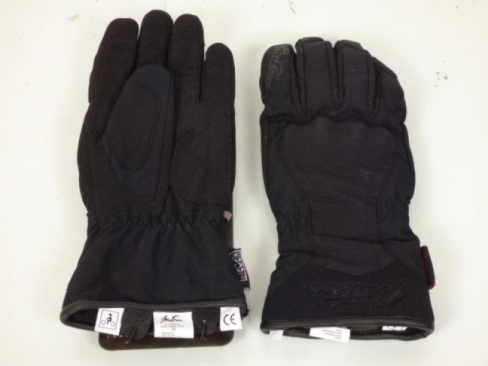 paire de gant noir moto hiver homme taille s homologu ce. Black Bedroom Furniture Sets. Home Design Ideas