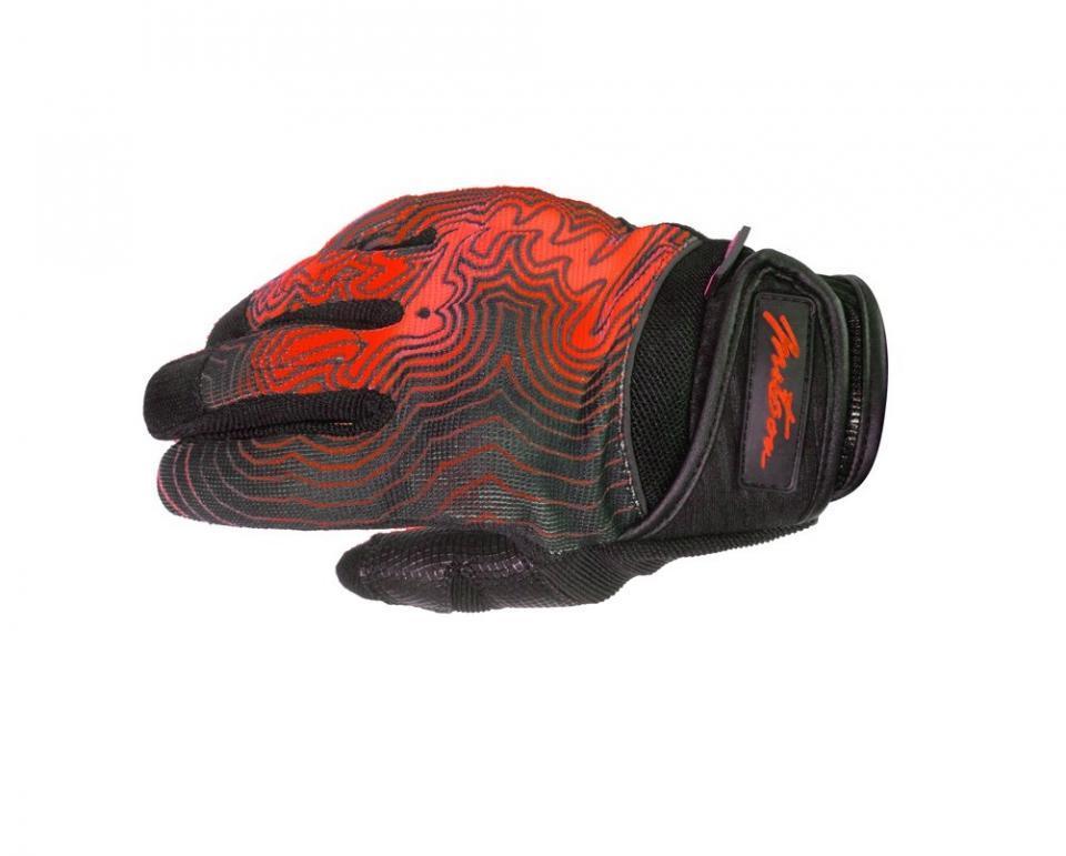 paire de gant moto mx cross enduro mitsou jump rouge. Black Bedroom Furniture Sets. Home Design Ideas